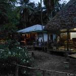 The Shop at night