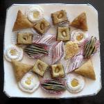 biscotti marocchini offerti dal riad