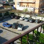 parcheggio interno hotel