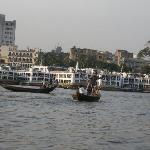 view of Buriganga river at Sadarghat