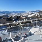 photo vue du balcon
