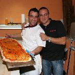 Host's Pepe and Alessandro