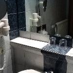 Modern and super-clean bathrooms