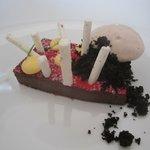 stunning chocolate dessert