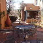 The courtyard at Pueblo Bonito