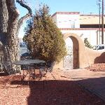 The yard at Pueblo Bonito
