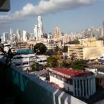 Looking Over Panama City From Bahia Suites