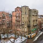 Chichikov: room view over Gogol St