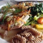 Hildegard Fisch mit Marktgemüse