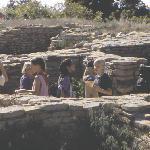 Children at Escalante Pueblo, Anasazi Heritage Center