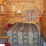 Bed in Cabin #4