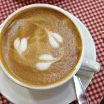 great coffee. can you feel the love?