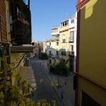 Street view west, Apt #5, Conde de Torrejón 10
