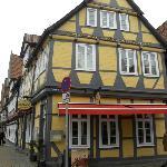 Aussenansicht Restaurant Mango Celle