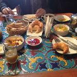 amazing breakfast! mmm!