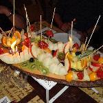Frutta mista tagliata..