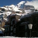 Hotel Regina vor Schwarzmönch/Jungfrau
