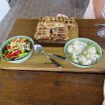 Braai Brood and Salads