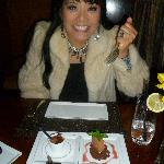 """chocolate experience 19 for two cocoa nib ice cream, sacher torte, warm fondant, """"after eight"""" s"""