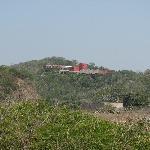 Vista del Hotel villa Paraiso en zona de Creyes