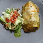 Burritos au poulet