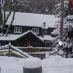 Whisperin' Pines Chalet winter