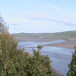 laugharne at low tide