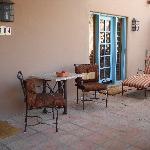The patio to our Grande Casita
