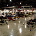 The 120,000 sq. ft. museum features over 100 vehicles and related automobilia.
