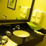 Marble Sink & Vanity Mirror