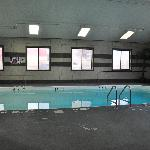 A nicely sized indoor pool is available for exercise and relaxation.