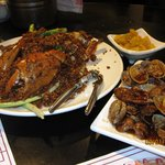 Garlic Crab and Clams