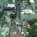 View of Soi 5 from the room