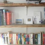 Book shelf at Guest house.