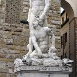Hercules and Cacus Statue