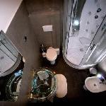 Bagno Privato Con Doccia Idromassaggio Orange Room