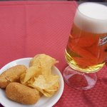 beer with tapas offered gratis