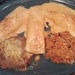 Three enchiladas