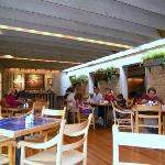 Inside at late in lunch service on weekday