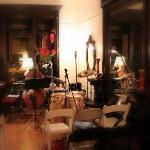 Le salon devient salle de concert...