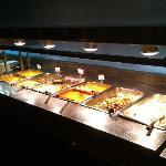 Hot dish buffet.