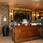Saloon at intermission
