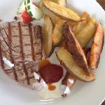 tuna with wedges
