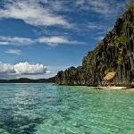 Pristine water around Coron Island (on an island hopping tour))