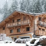 Chalet Joran in the first snow