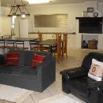 Holiday house,dining/braai area