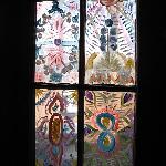 Room 4 hand-painted windows