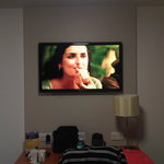 "40"" flat screen TV"