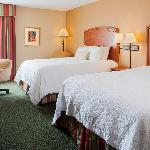Our newly renovated double queen room features Hampton's signature Clean and Fresh Hampton Bed™.
