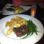 6 oz. Filet Mignon - perfectly cooked!